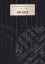 FY 2010 Annual Report - Part II - Orascom Development