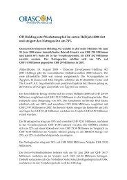 OD Holding Press Release 1408 D final - Orascom Development