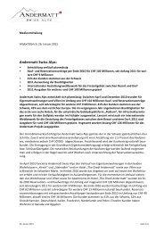 Andermatt Swiss Alps: - Orascom Development