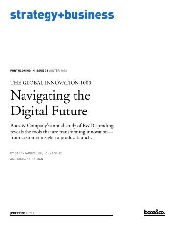 Strategyand_2013-Global-Innovation-1000-Study-Navigating-the-Digital-Future