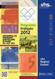 Frühjahr 2012 Programm