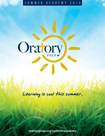 Sports Camps - Oratory Preparatory School