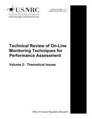 Technical Review of On-Line Monitoring Techniques - Oak Ridge ...