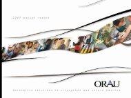 2007 ORAU Annual Report - Oak Ridge Associated Universities