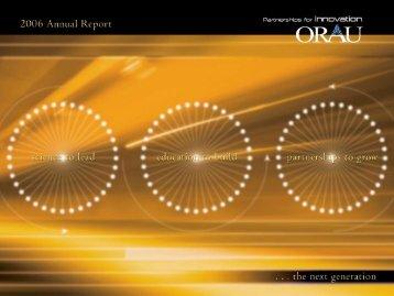 Oak Ridge Associated Universities 2006 Annual Report