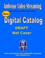 Ambrose Digital Draft Catalog - Orbis Cascade Alliance