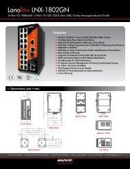 Lanolinx LNX-1802GN - Orbit Micro