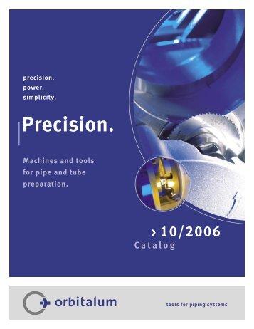 Pipe End Preparation Technology - Orbitalum USA