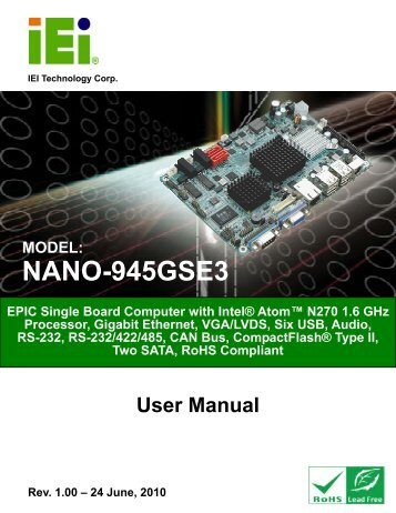 NANO-945GSE3 User Manual - Orbit Micro