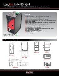 Lanolinx LNX-804GN - Orbit Micro