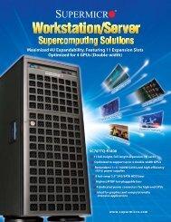 Maximized 4U Expandability, Featuring 11 Expansion ... - Supermicro