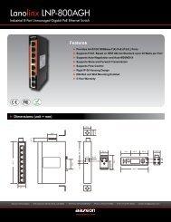 Lanolinx LNP-800AGH - Orbit Micro
