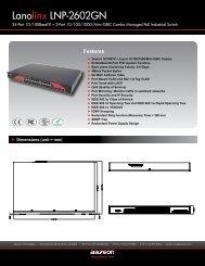 Lanolinx LNP-2602GN - Orbit Micro