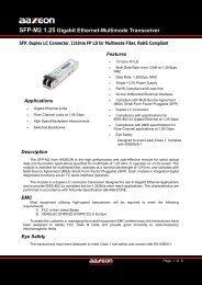 SFP-M2 1.25 Gigabit Ethernet-Multimode Transceiver - Orbit Micro