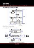 SFP-M2 1.25 Gigabit Ethernet-Multimode Transceiver - Orbit Micro - Page 6