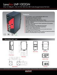 Lanolinx LNP-1002GN - Orbit Micro