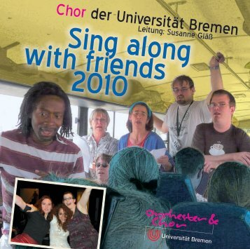 Booklet - Orchester & Chor der Universität Bremen
