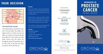 PSA test - Orchid