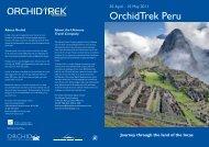 OrchidTrek Peru