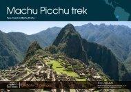 Machu Picchu trek - Orchid