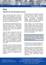 Vitamin D and Prostate Cancer - Orchid