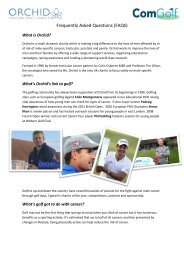 FAQs on Community Golf - Orchid