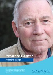 Prostate Cancer - Orchid