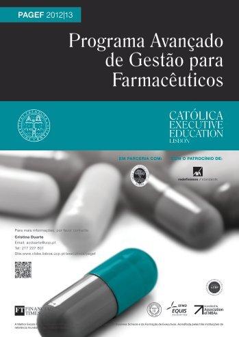 Brochura institucional do PAGEF 2012/2013 - Ordem dos ...