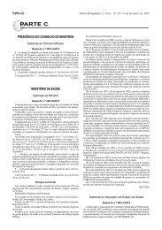 Despacho n.º 2061-C/2013 - Secção Regional Norte da Ordem dos ...