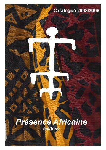 Éditions Présence Africaine - Ordiecole.com