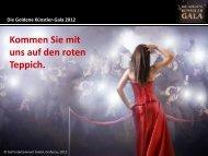 Die Goldene Künstler-Gala 2012 - Dull Entertainment GmbH