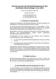 Anlage 7e zur AVO Altersteilzeit - Erzbischöfliches Ordinariat Freiburg