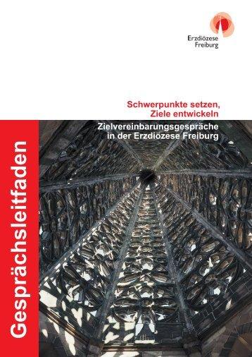 Gesprächsleitfaden - Erzbischöfliches Ordinariat Freiburg