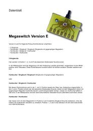 Megaswitch Version E - Eyb Guitars & Basses