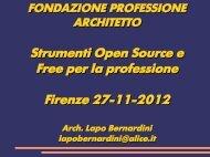 Consiglio di strategia - Ordine architetti di Firenze