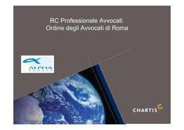 RC Professionale Avvocati Ordine degli Avvocati di Roma