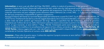 scheda raccolta dati.pdf - Ordine degli Avvocati di Trento