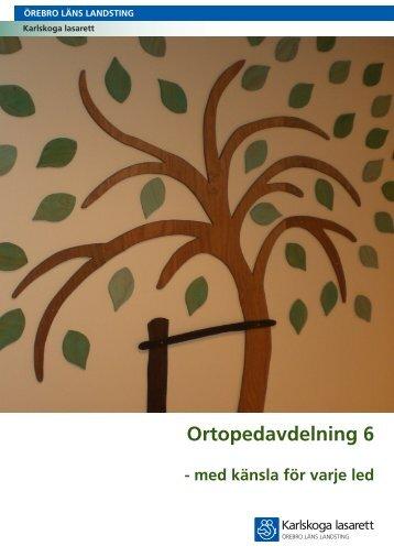 Information om avd 6 - Örebro läns landsting