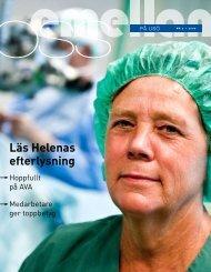 Läs Helenas efterlysning - Örebro läns landsting