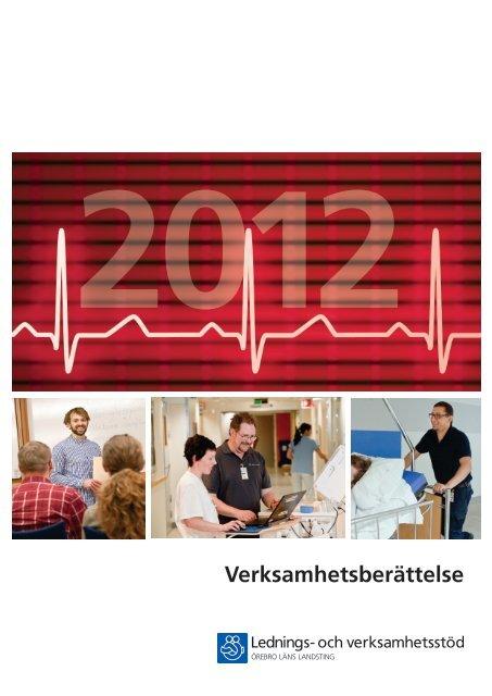 Lednings- och verksamhetsstöds Verksamhetsberättelse 2012