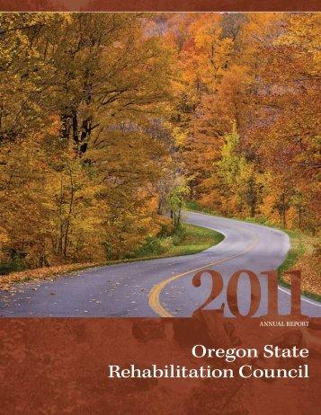 Oregon State Rehabilitation Council - State of Oregon