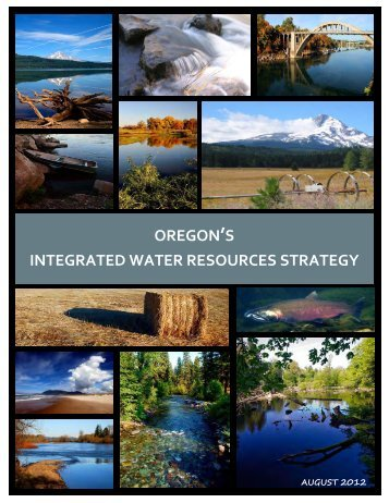 oregon's integrated water resources strategy - State of Oregon