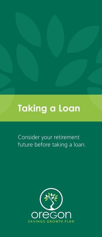 Taking a Loan - State of Oregon
