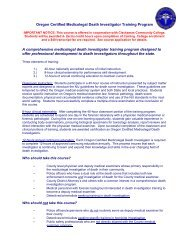 WV Handbook For Performance of Death Investigation and ... - DHHR