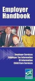 Employer Handbook - State of Oregon