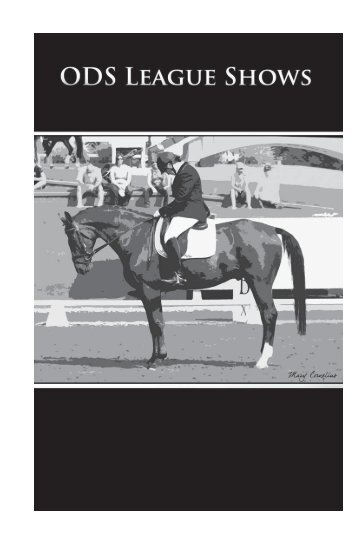 General Rules for ODS League Shows - the Oregon Dressage Society