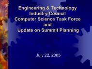 Computer Science Task Force - Engineering and Technology ...