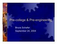 Pre-college & Pre-engineering