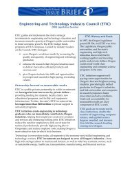 Engineering and Technology Industry Council (ETIC)
