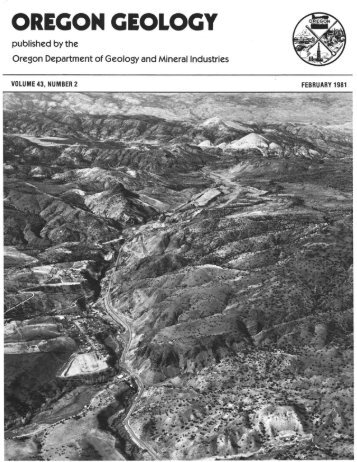 Vol.43, no.2 (February 1981) - Oregon Department of Geology and ...